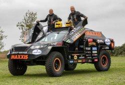 Dakar 2019: los hermanos Coronel mejoran su buggy