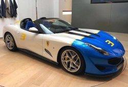 El nuevo Ferrari SP3JC es un roadster único con base 812 Superfast