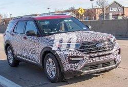 El nuevo Ford Explorer se desprende de gran parte de su camuflaje