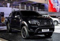 Ford Ranger Black Edition Concept, sofisticación para el público urbano