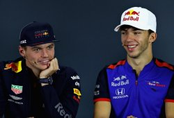"Horner: ""Sería injusto esperar que Gasly desafiara a Verstappen ya en 2019"""