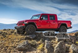 El nuevo Jeep Gladiator 2020 pick-up filtrado por la propia marca