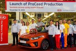 El nuevo Kia ProCeed 2019 ya está siendo producido en Eslovaquia