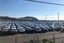 El nuevo Mazda3 sedán 2019 avistado al desnudo en una campa