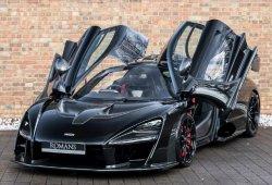 Uno de los pocos McLaren Senna fabricados ya está en venta