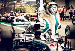 Mercedes, quíntuple campeón del mundo de constructores