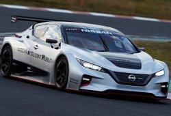 Nissan Leaf Nismo RC, el popular eléctrico se convierte en un coche de competición