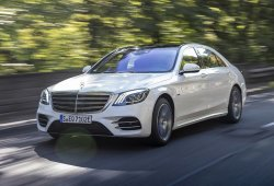 La versión híbrida enchufable S 560 e del Mercedes Clase S ya está a la venta