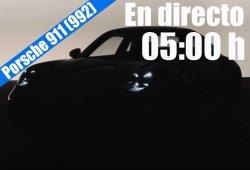 En directo, la presentación del nuevo Porsche 911 (992)
