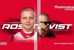 Rosenqvist por Wehrlein, cambio puntual en Mahindra