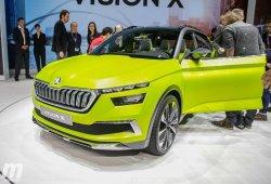 Kosmiq, el nombre que Skoda guarda para su nuevo B-SUV llegará en julio de 2019