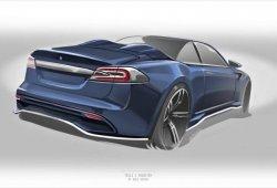 Ares Design prepara un Tesla Roadster... ¡sobre un Model S!