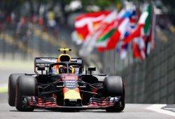 Verstappen, al frente en la igualada primera tanda en Interlagos