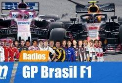[Vídeo] La radio de los pilotos en el GP de Brasil de F1 2018