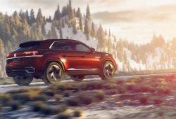 El modelo de producción basado en el Volkswagen Atlas Cross Sport se deja ver en fotos espía
