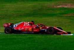 Mejor tiempo para Vettel y tensión para Hamilton y Mercedes