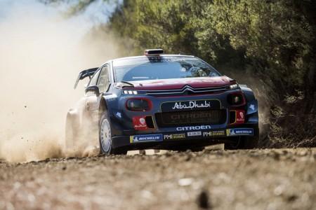 Citroën cierra su discreto 2018 en el Rally de Australia