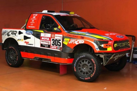 Dakar 2019: Prokop estrena un Ford F-150 evolucionado