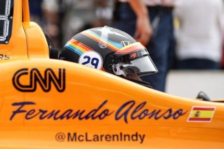 McLaren y Alonso confirman su participación en la Indy 500 de 2019