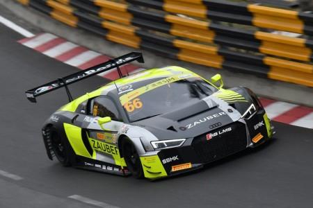 Robin Frijns comienza al frente en la FIA GT World Cup