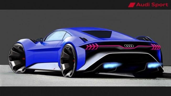 Audi RSQ e-tron Concept - posterior
