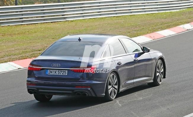 Audi S6 2019 - foto espía posterior