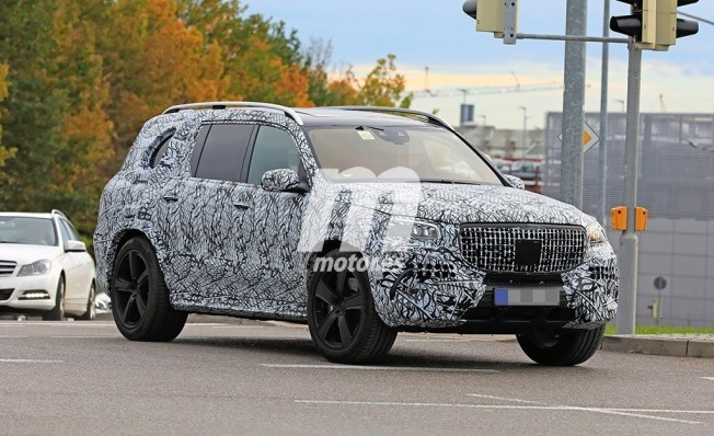 Mercedes-Maybach Clase GLS 2020 - foto espía