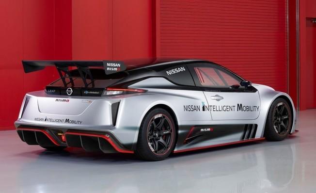 Nissan Leaf Nismo RC - posterior
