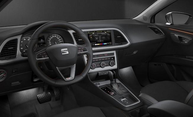 SEAT León X-Perience - interior
