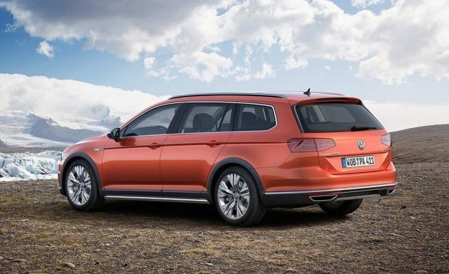 Volkswagen Passat Alltrack - posterior