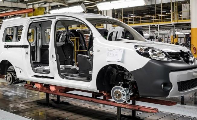Producción del Renault Kangoo