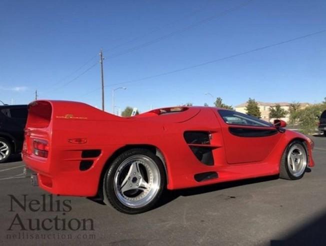 Uno De Los Escasos Vector M12 Rescatado De Un Garaje De Las Vegas Motor Es