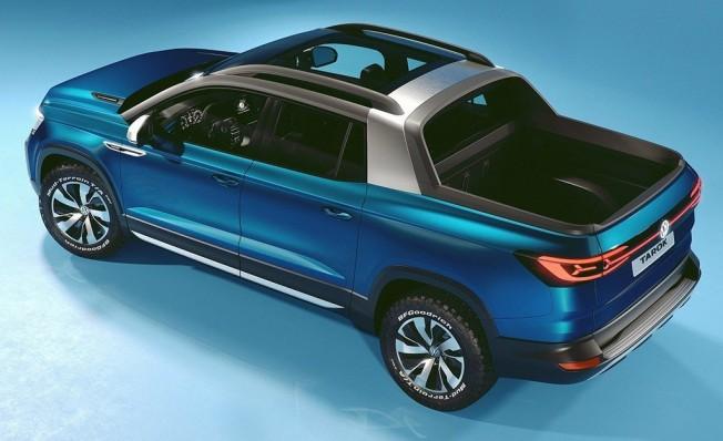 Volkswagen Tarok Concept - posterior