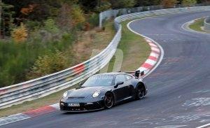 El nuevo Porsche 911 GT3 al detalle en sus pruebas en Nürburgring