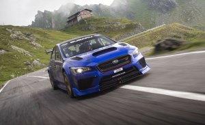 El Subaru WRX STI Type RA Time Attack se enfrenta a la Transfăgărășan [vídeo]