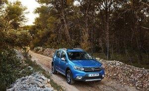 España - Octubre 2018: El Dacia Sandero llega a lo más alto