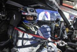 Así rueda Alex Zanardi con su BMW M8 GTLM adaptado