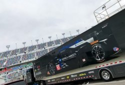 Alonso, ausente en el test de Daytona; Taylor inicia la adaptación a los Michelin
