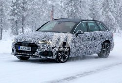 El nuevo Audi A4 Avant 2020 ya se enfrenta a la nieve