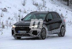El esperado Audi RS Q3 ya se enfrenta al frío y la nieve