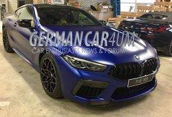 El nuevo BMW M8 Competition, cazado completamente al descubierto