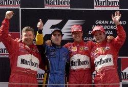 """Brawn: """"Alonso no ha ganado tanto como merecía, le echaremos de menos"""""""