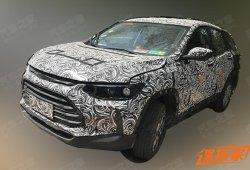 El nuevo Chevrolet Tracker queda al descubierto en China
