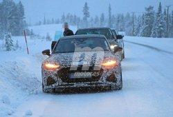 El nuevo Audi RS 7 Sportback se enfrenta a las pruebas de invierno