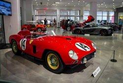 El último de los Ferrari 290 MM lideró las subastas del Petersen Museum