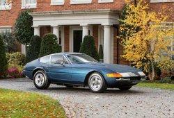 Este Ferrari 365 GTB/4 Daytona era un vehículo de autoescuela