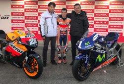 Honda se despide de Dani Pedrosa con un regalo muy especial