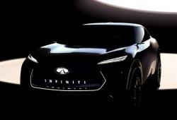 Infiniti avanza un nuevo concepto de crossover para el Salón de Detroit 2019