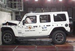 El nuevo Jeep Wrangler suspende en las pruebas Euro NCAP