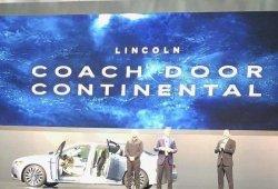 Filtrado el nuevo Lincoln Continental Coach Door de puertas suicidas